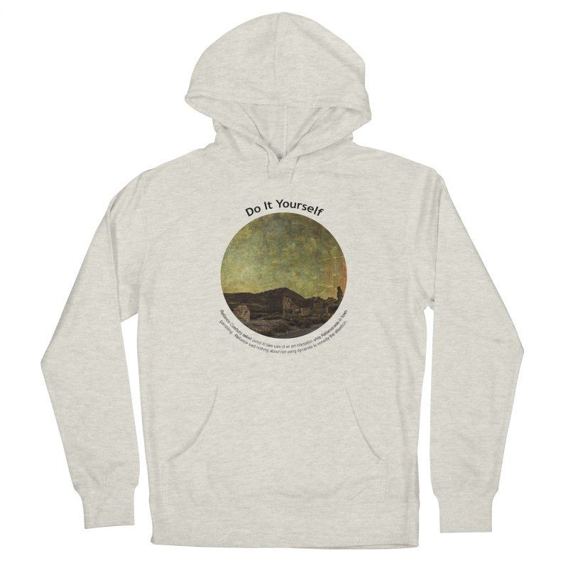 Do It Yourself Men's Pullover Hoody by Hogwash's Artist Shop