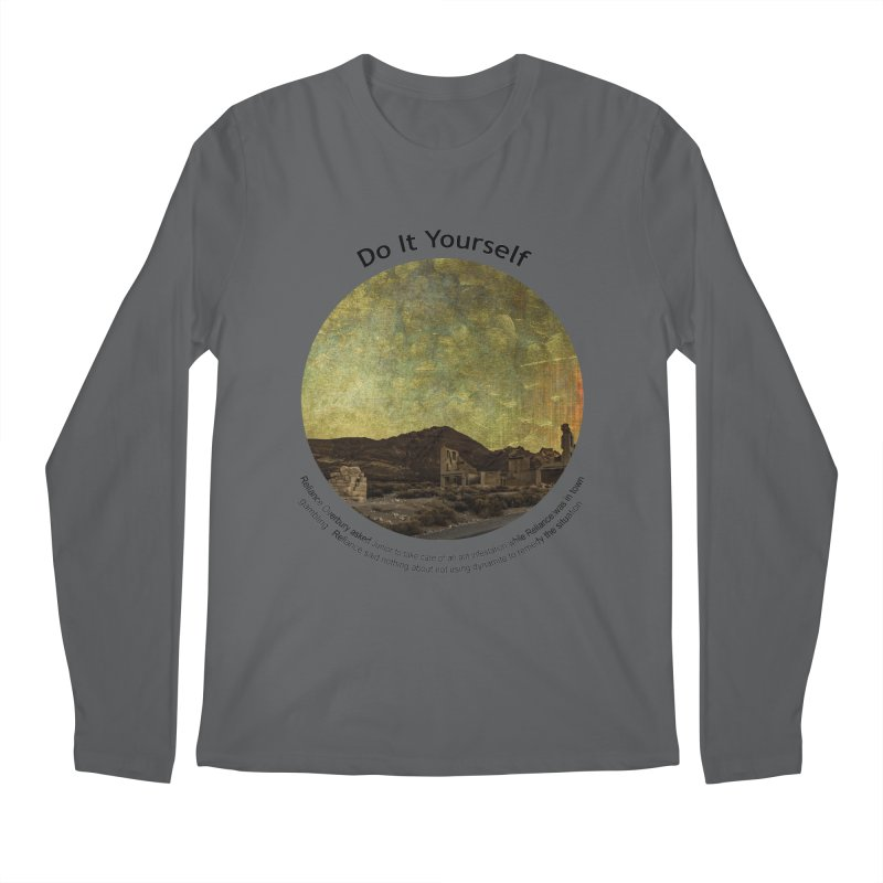 Do It Yourself Men's Longsleeve T-Shirt by Hogwash's Artist Shop