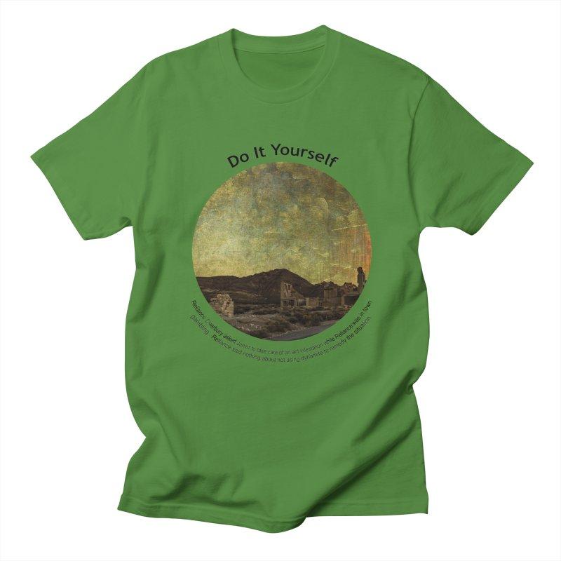 Do It Yourself Men's T-shirt by Hogwash's Artist Shop