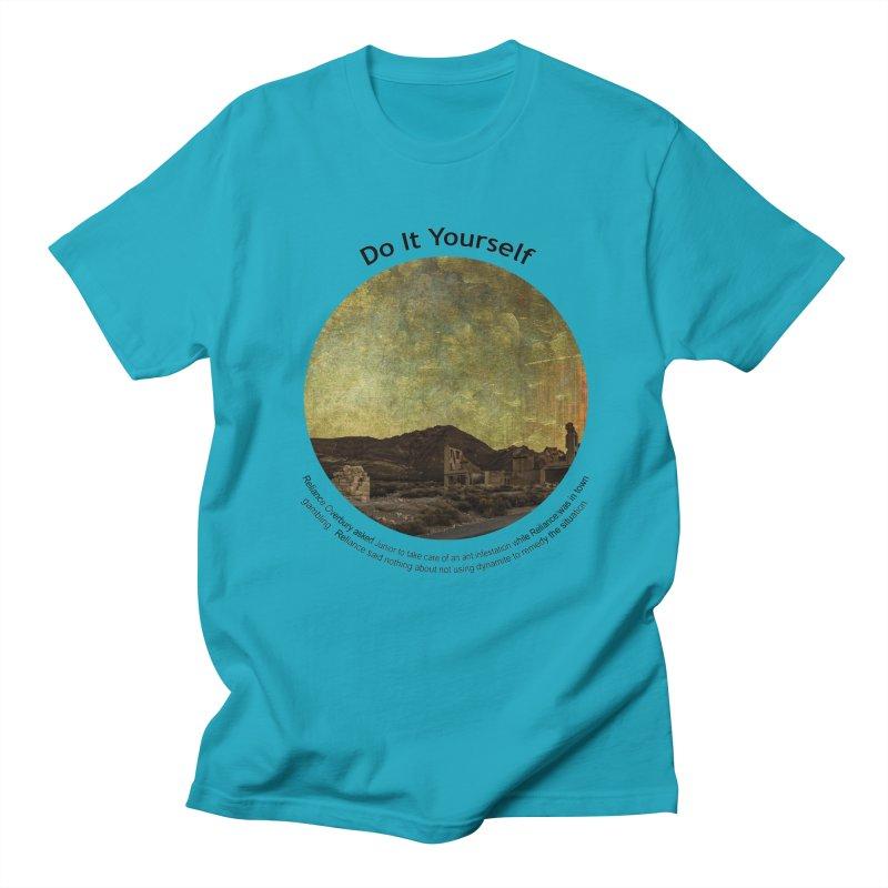 Do It Yourself Men's Regular T-Shirt by Hogwash's Artist Shop