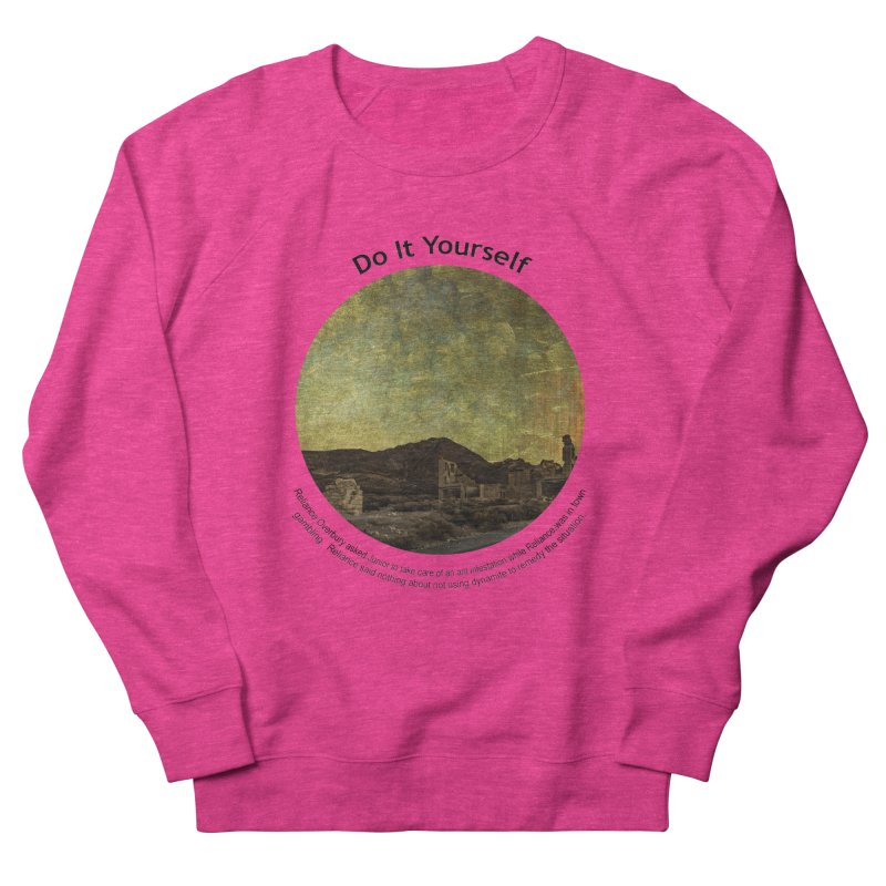 Do It Yourself Men's Sweatshirt by Hogwash's Artist Shop