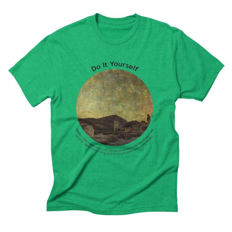 Do It Yourself Men's Triblend T-Shirt by Hogwash's Artist Shop