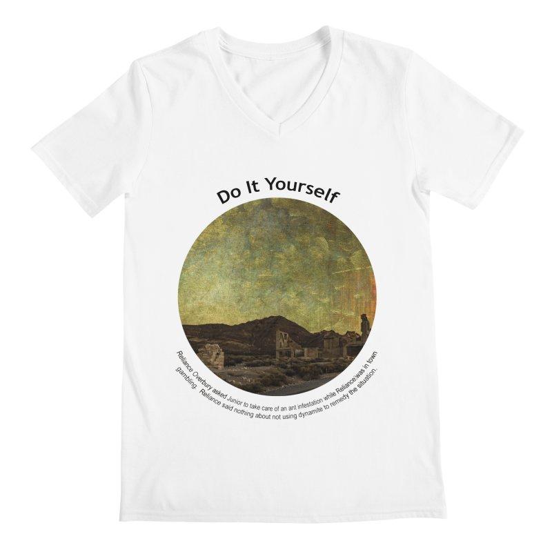 Do It Yourself Men's V-Neck by Hogwash's Artist Shop