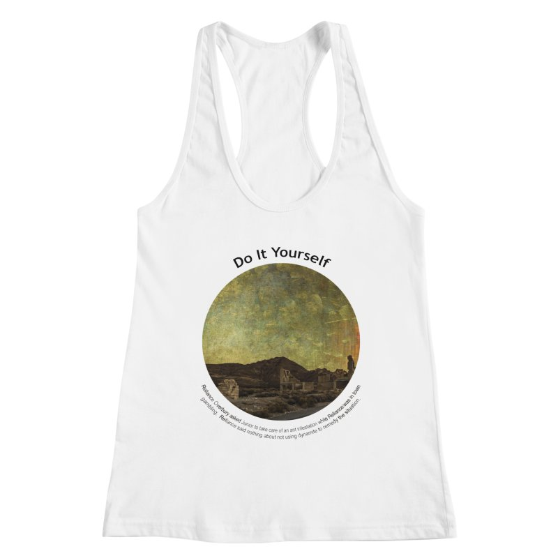 Do It Yourself Women's Tank by Hogwash's Artist Shop