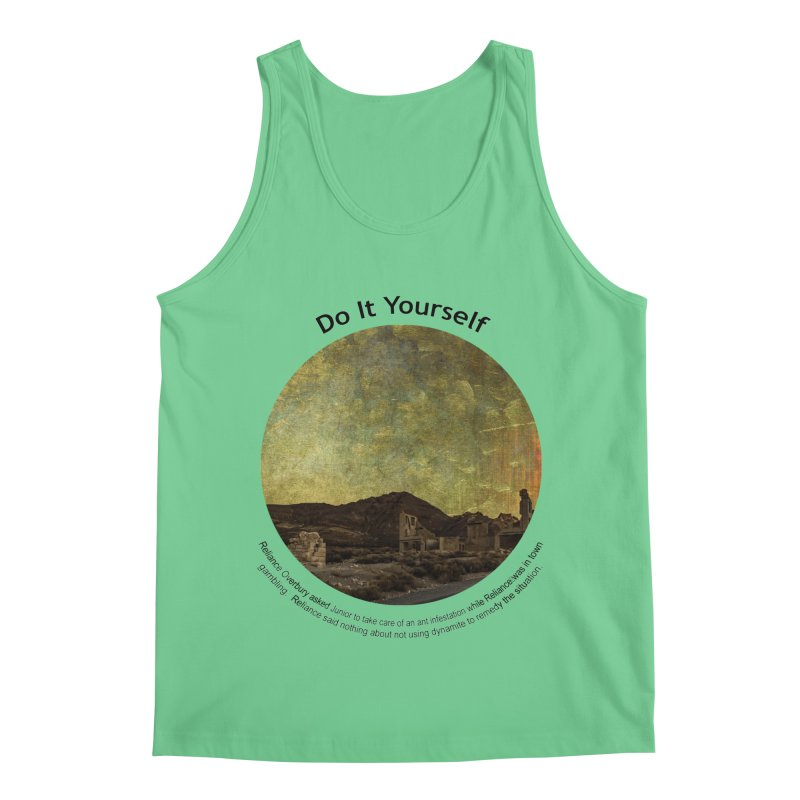 Do It Yourself Men's Regular Tank by Hogwash's Artist Shop