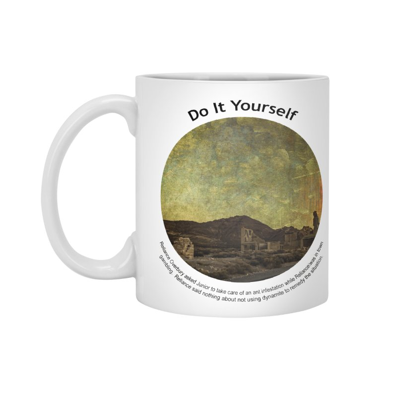 Do It Yourself Accessories Standard Mug by Hogwash's Artist Shop