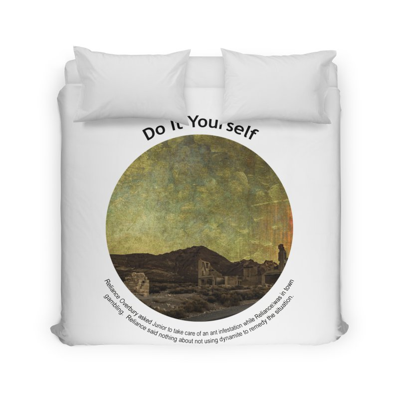 Do It Yourself Home Duvet by Hogwash's Artist Shop