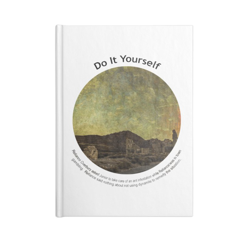 Do It Yourself Accessories Notebook by Hogwash's Artist Shop