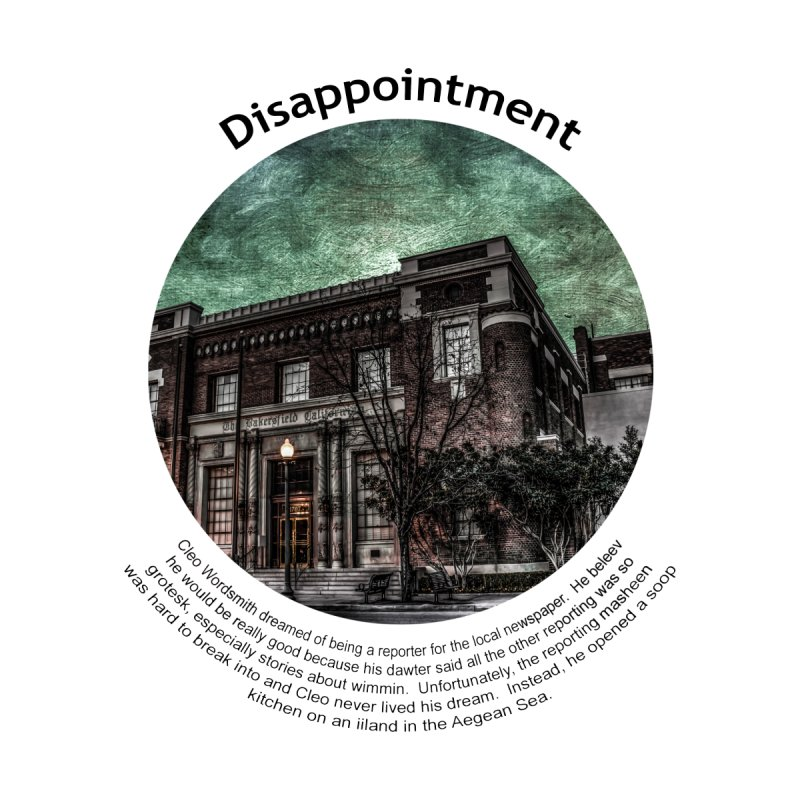 Disappointment by Hogwash's Artist Shop