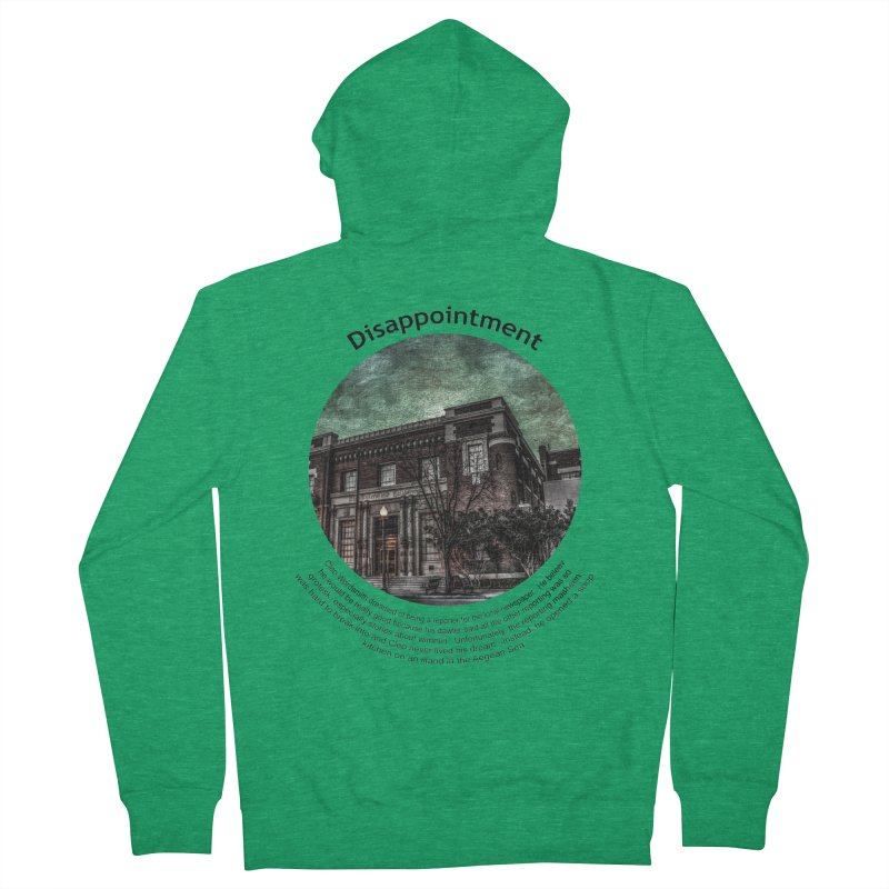 Disappointment Men's Zip-Up Hoody by Hogwash's Artist Shop