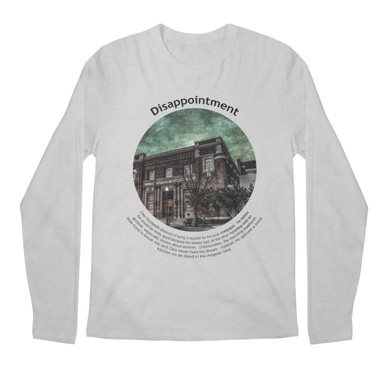 Disappointment Men's Regular Longsleeve T-Shirt by Hogwash's Artist Shop