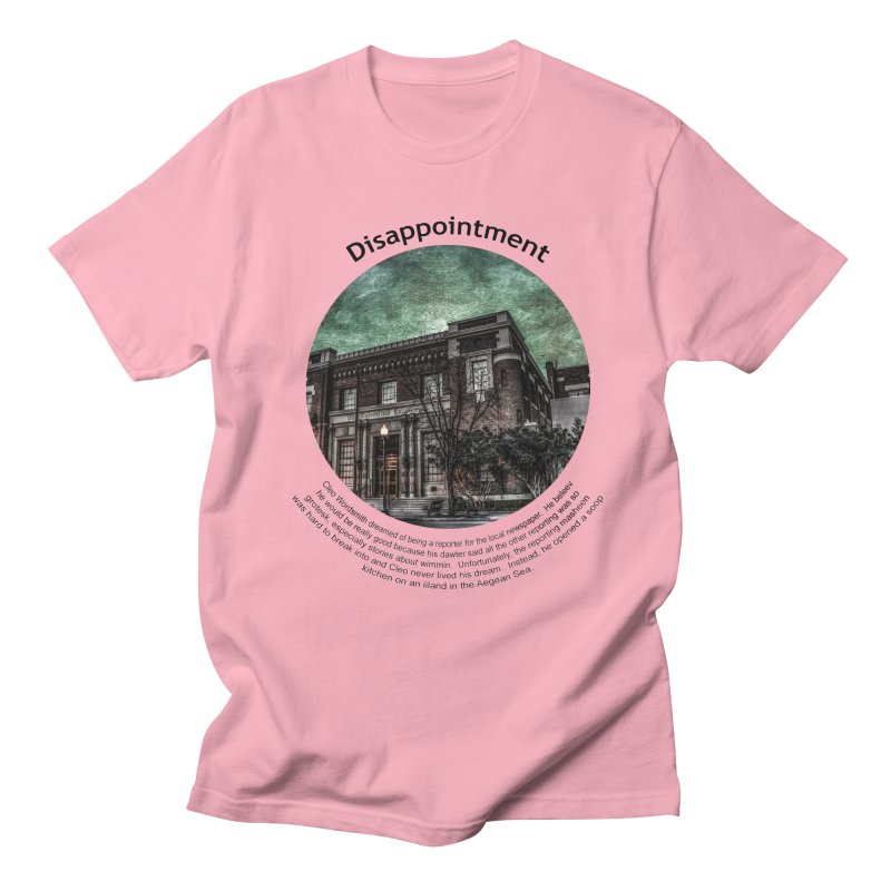 Disappointment Men's Regular T-Shirt by Hogwash's Artist Shop
