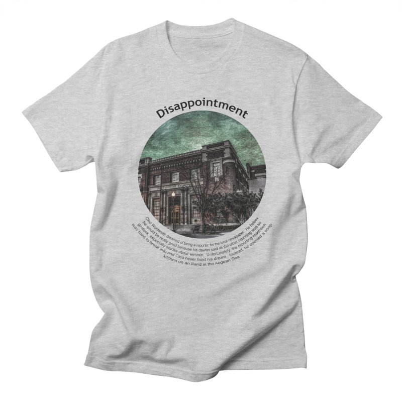 Disappointment Men's T-Shirt by Hogwash's Artist Shop
