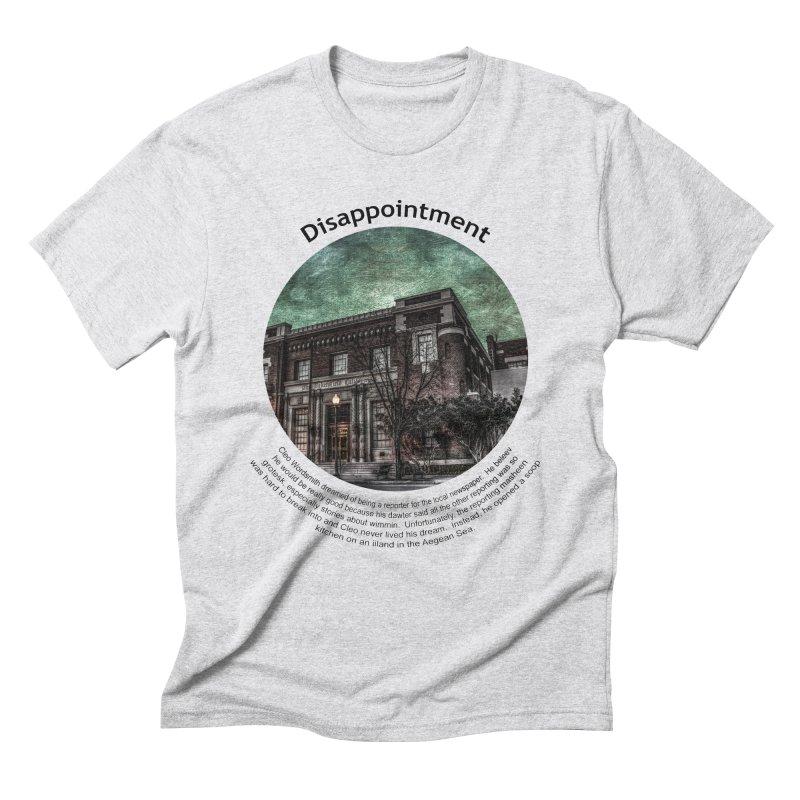 Disappointment Men's Triblend T-Shirt by Hogwash's Artist Shop