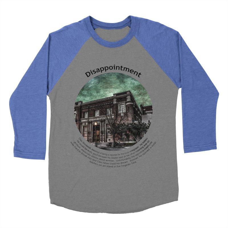 Disappointment Women's Baseball Triblend Longsleeve T-Shirt by Hogwash's Artist Shop