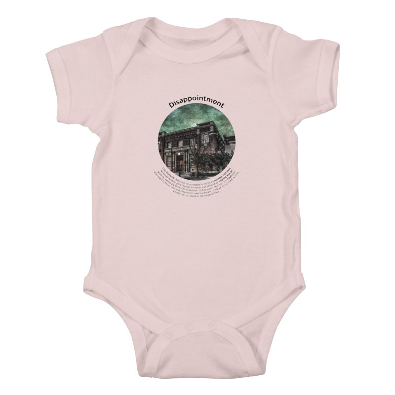 Disappointment Kids Baby Bodysuit by Hogwash's Artist Shop