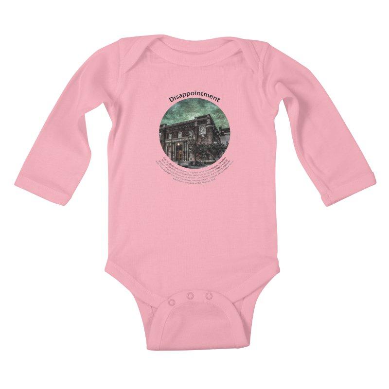 Disappointment Kids Baby Longsleeve Bodysuit by Hogwash's Artist Shop
