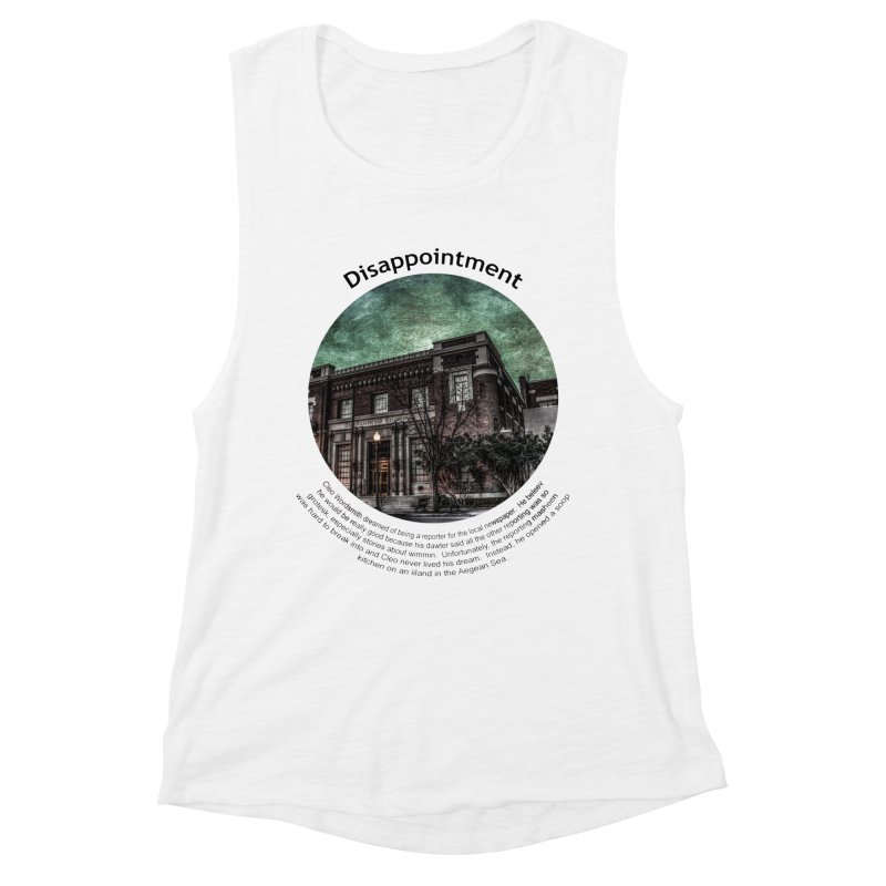 Disappointment Women's Tank by Hogwash's Artist Shop