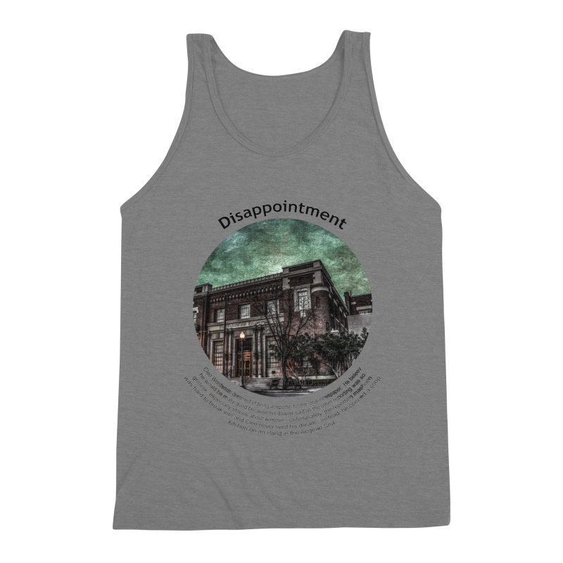 Disappointment Men's Tank by Hogwash's Artist Shop