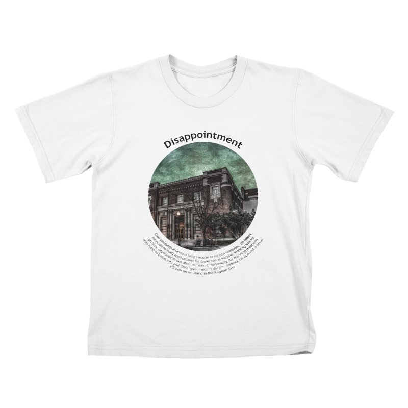 Disappointment Kids T-Shirt by Hogwash's Artist Shop