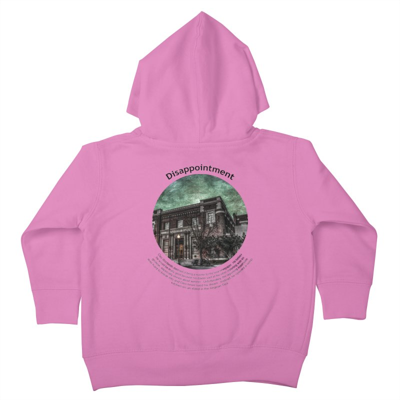 Disappointment Kids Toddler Zip-Up Hoody by Hogwash's Artist Shop