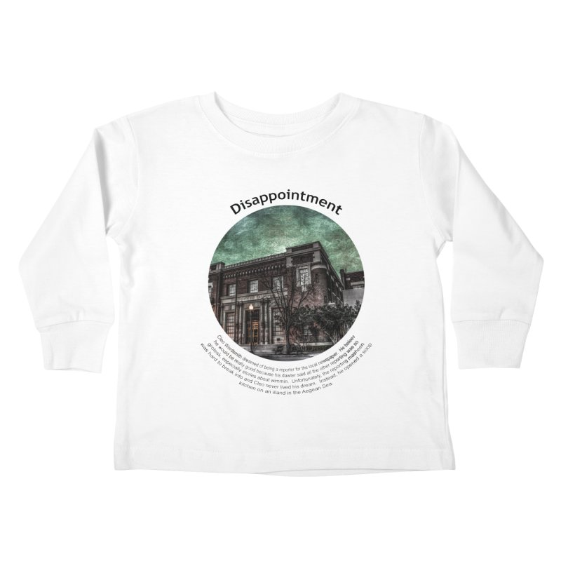 Disappointment Kids Toddler Longsleeve T-Shirt by Hogwash's Artist Shop
