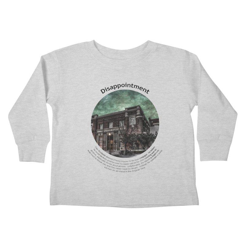 Disappointment Kids Toddler Longsleeve T-Shirt by Hogwash's Artist Shop