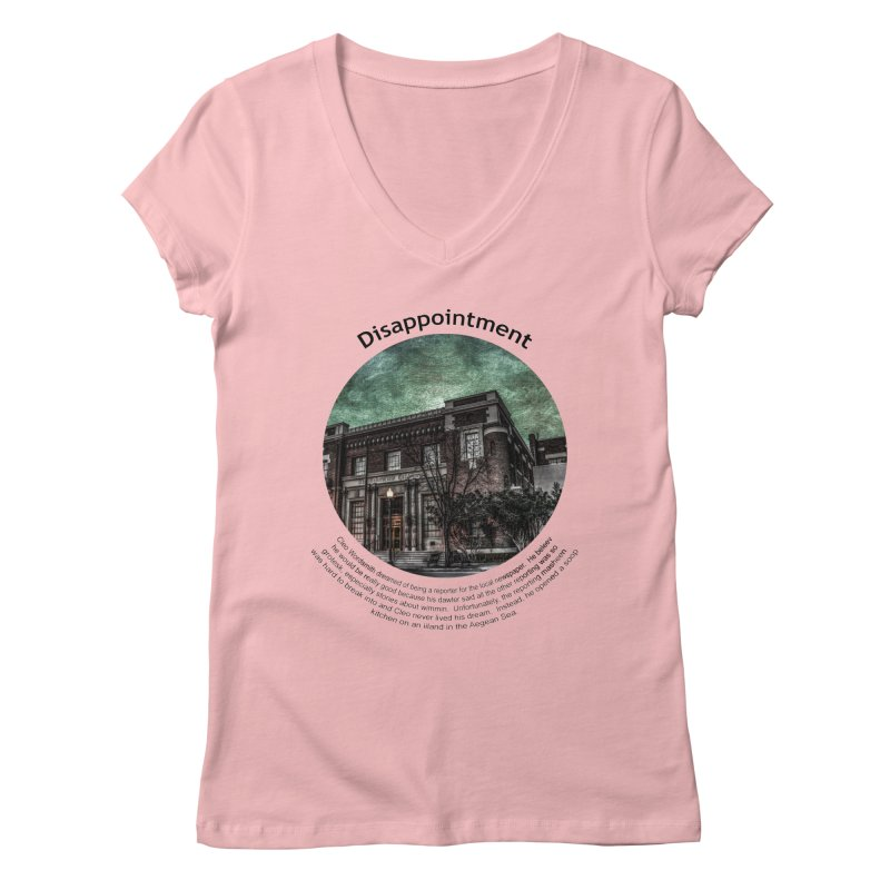 Disappointment Women's V-Neck by Hogwash's Artist Shop