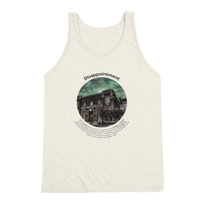 Disappointment Men's Triblend Tank by Hogwash's Artist Shop