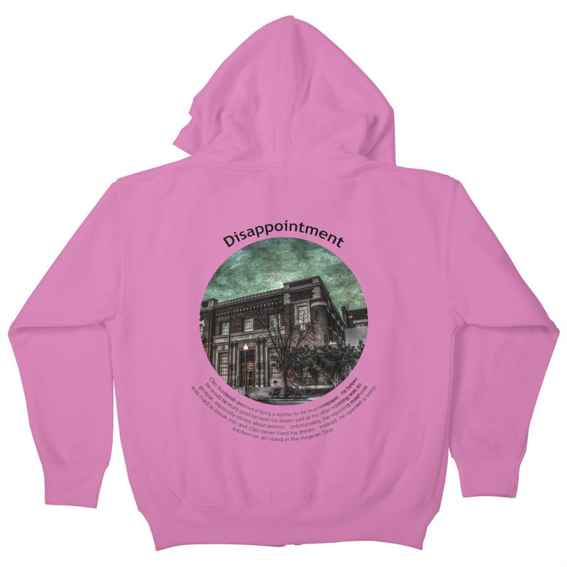 Disappointment Kids Zip-Up Hoody by Hogwash's Artist Shop