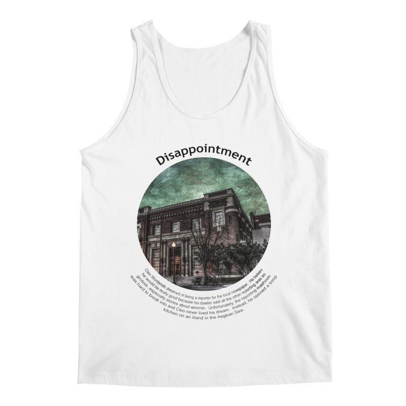 Disappointment Men's Regular Tank by Hogwash's Artist Shop