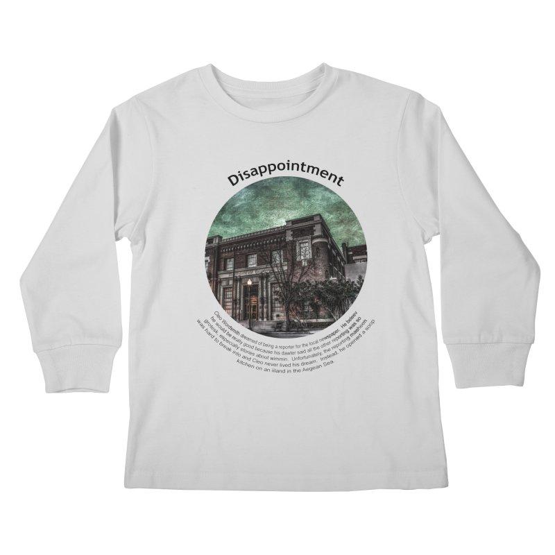 Disappointment Kids Longsleeve T-Shirt by Hogwash's Artist Shop