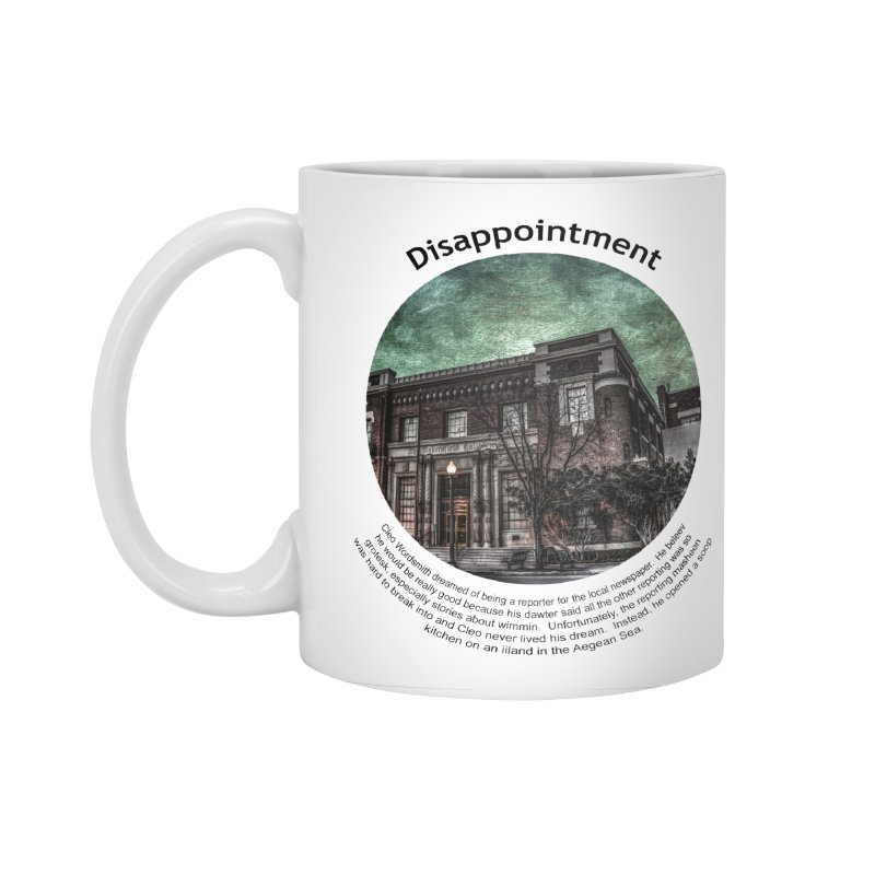 Disappointment Accessories Standard Mug by Hogwash's Artist Shop