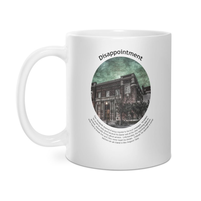 Disappointment Accessories Mug by Hogwash's Artist Shop