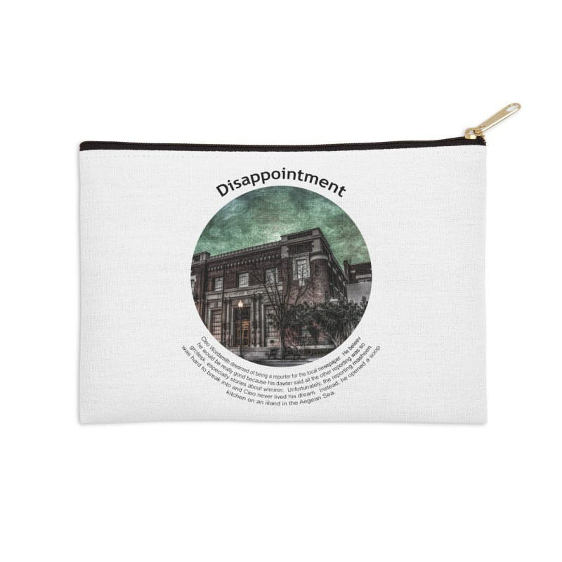 Disappointment Accessories Zip Pouch by Hogwash's Artist Shop