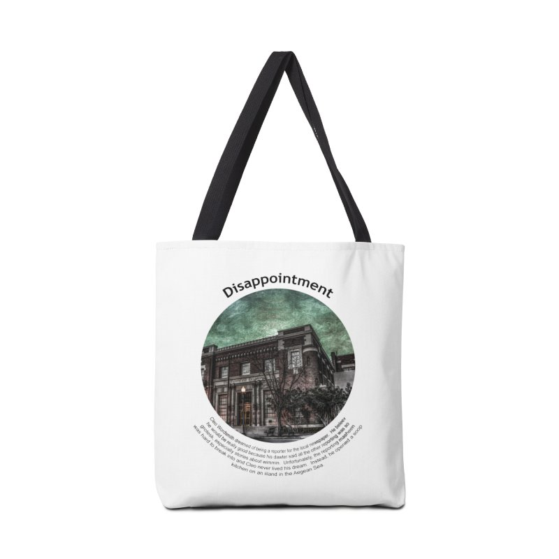 Disappointment Accessories Tote Bag Bag by Hogwash's Artist Shop