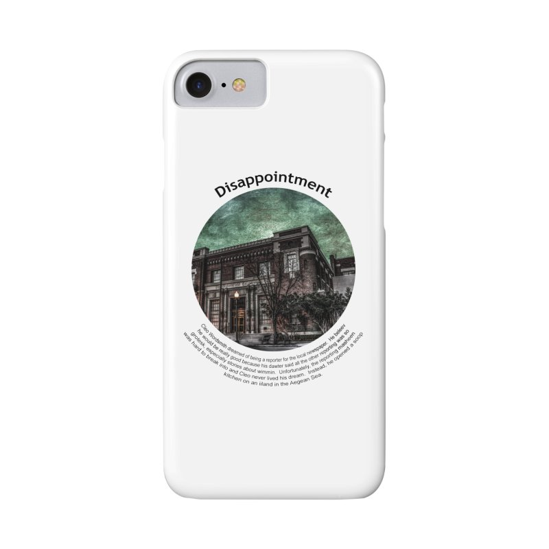 Disappointment Accessories Phone Case by Hogwash's Artist Shop