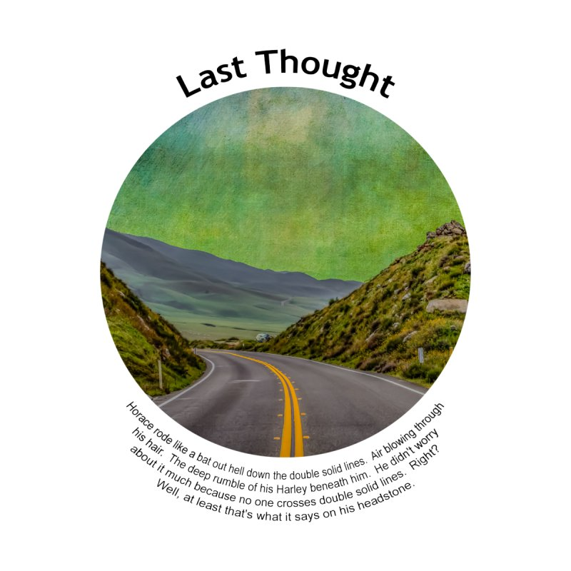Last Thought Accessories Notebook by Hogwash's Artist Shop