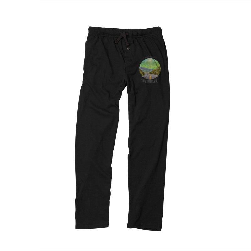 Last Thought Men's Lounge Pants by Hogwash's Artist Shop