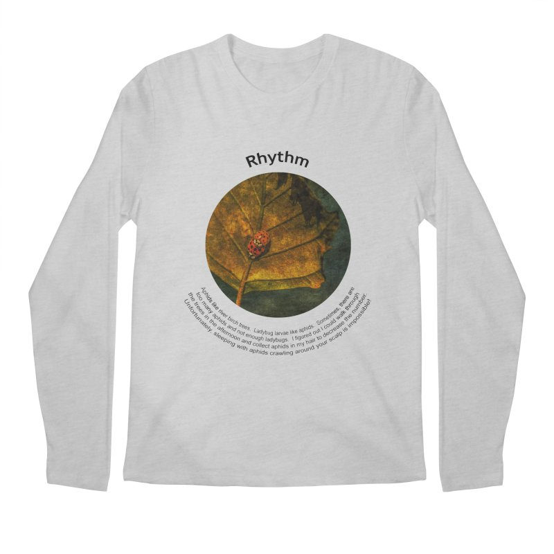 Rhythm Men's Regular Longsleeve T-Shirt by Hogwash's Artist Shop