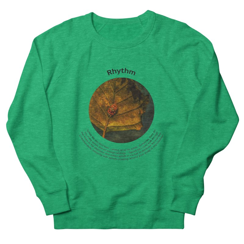 Rhythm Women's Sweatshirt by Hogwash's Artist Shop