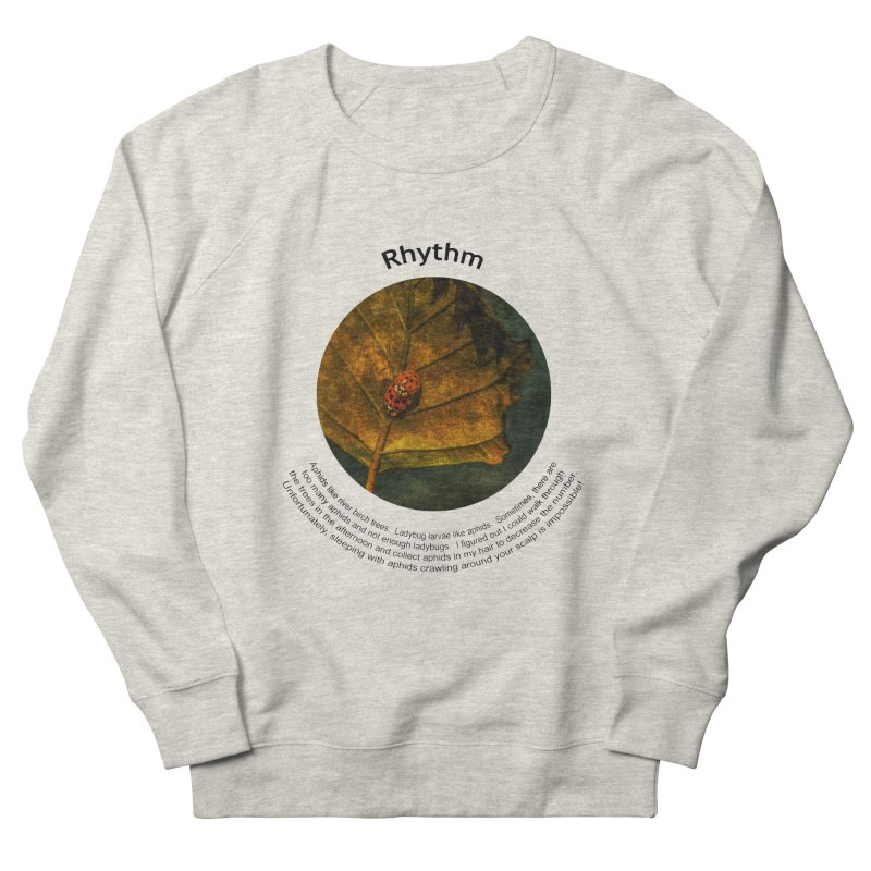 Rhythm Men's French Terry Sweatshirt by Hogwash's Artist Shop