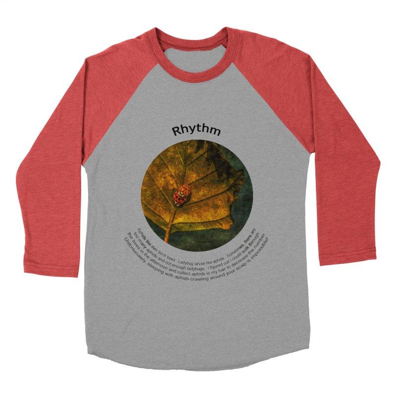 Rhythm Men's Baseball Triblend T-Shirt by Hogwash's Artist Shop