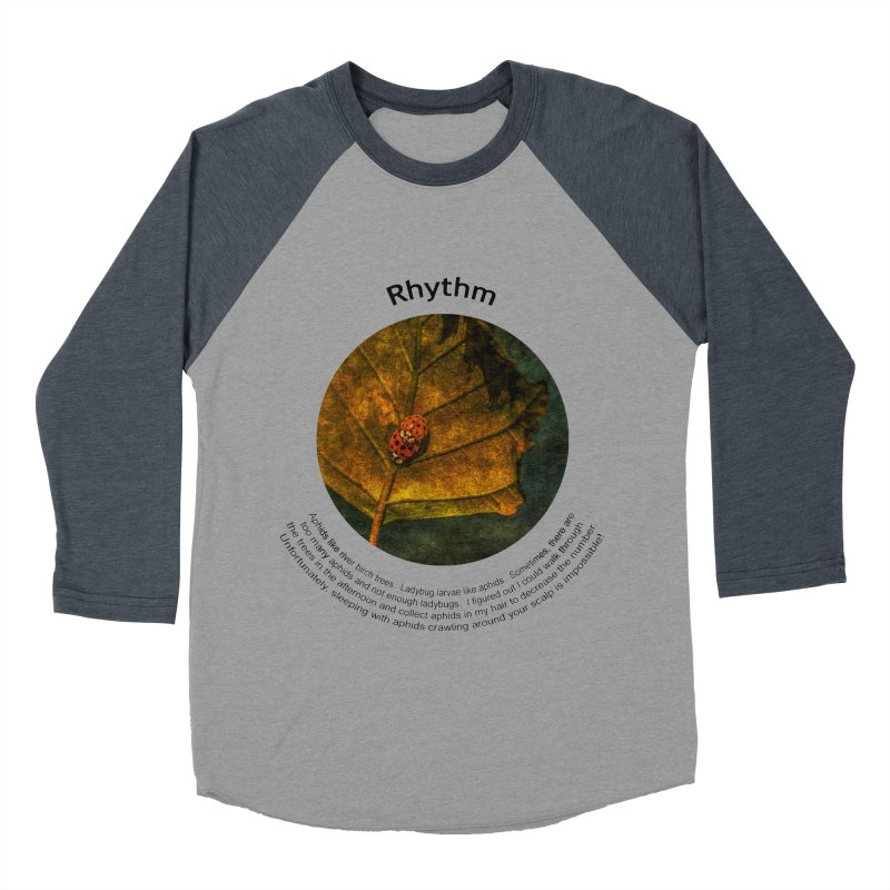 Rhythm Men's Baseball Triblend Longsleeve T-Shirt by Hogwash's Artist Shop