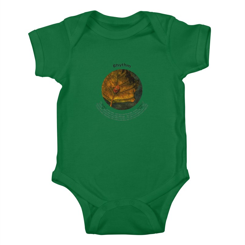 Rhythm Kids Baby Bodysuit by Hogwash's Artist Shop