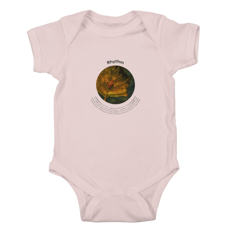 Rhythm Kids Baby Bodysuit by Hogwash's Artist Shop