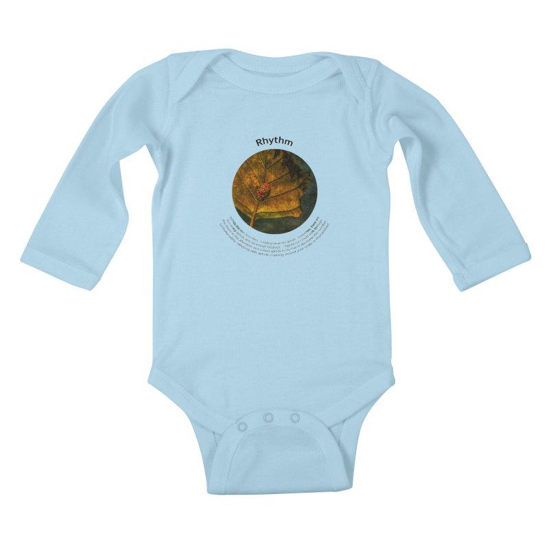 Rhythm Kids Baby Longsleeve Bodysuit by Hogwash's Artist Shop