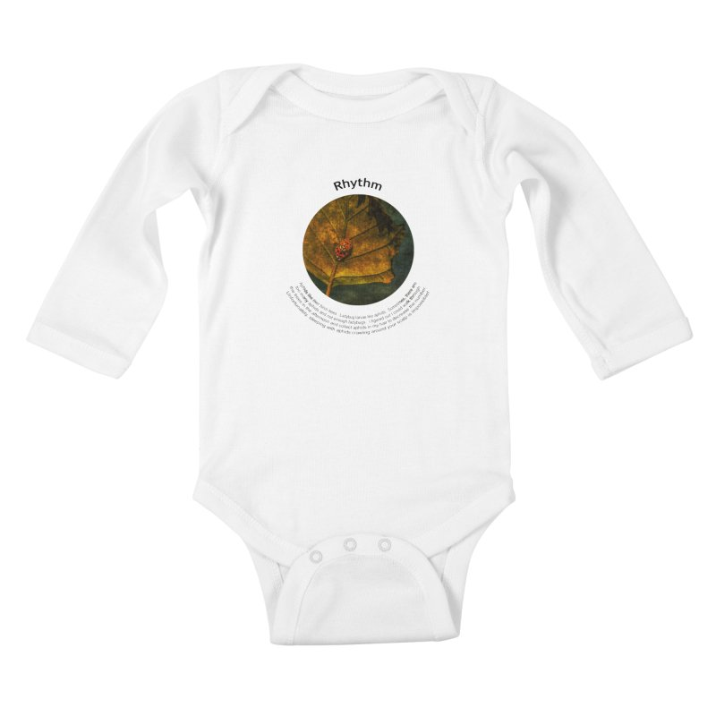 Rhythm Kids Baby Longsleeve Bodysuit by Hogwash's Artist Shop