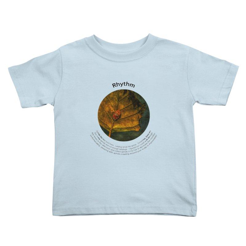 Rhythm Kids Toddler T-Shirt by Hogwash's Artist Shop