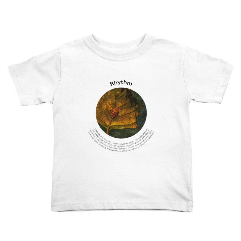 Rhythm Kids Toddler T-Shirt by Hogwash's Artist Shop